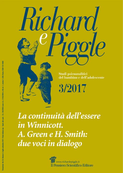 2017 Vol. 25 N. 3 Luglio-SettembreLa continuità dell'essere in Winnicott